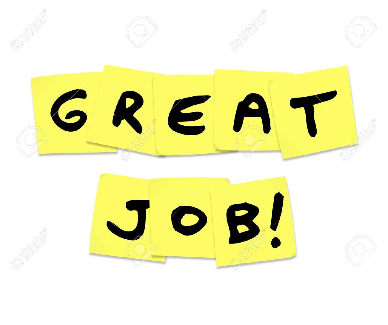 Good Job: The Words Great Job .-good job: The words Great Job .-12