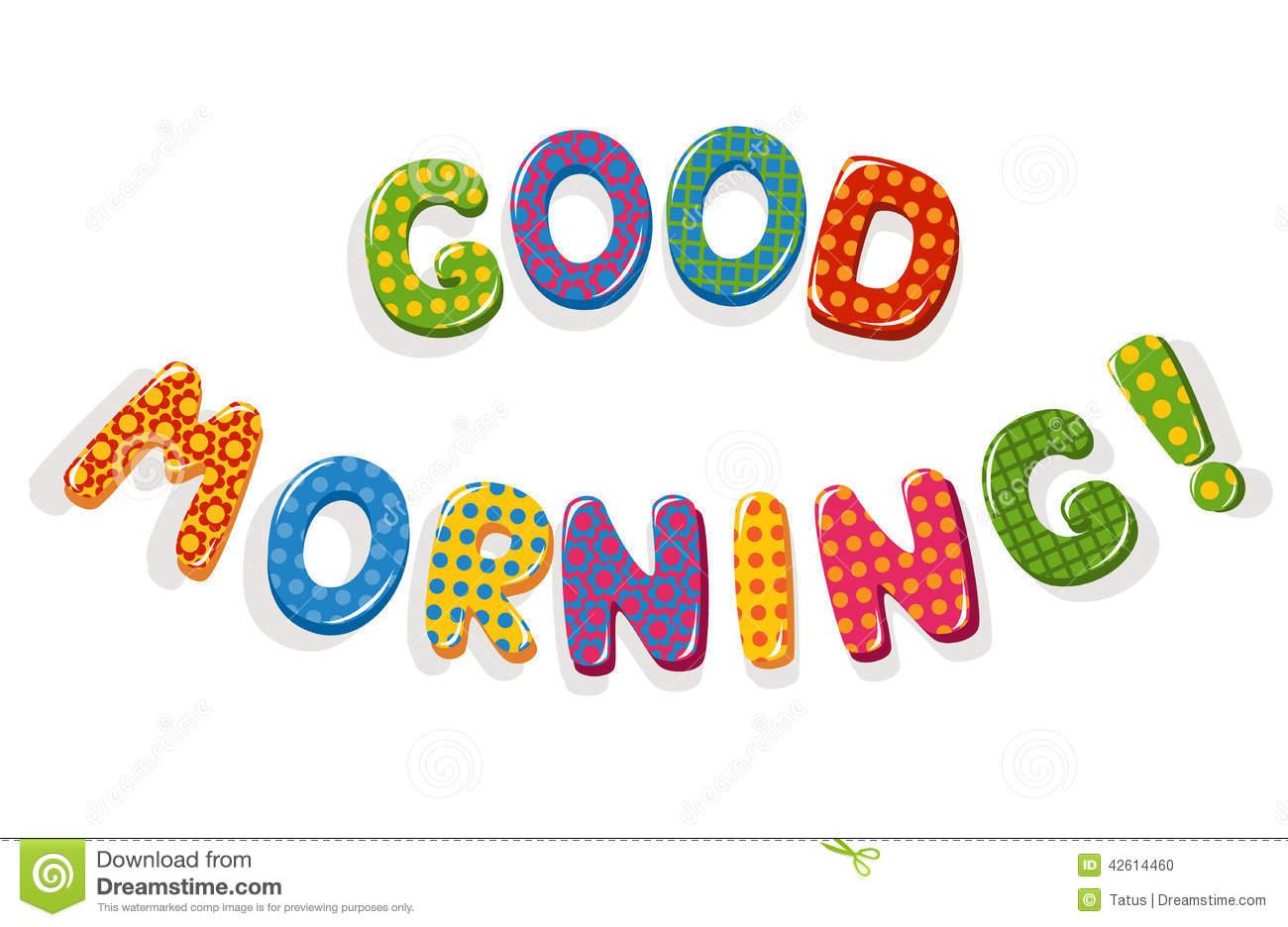 Good Morning Clipart .-Good Morning Clipart .-11