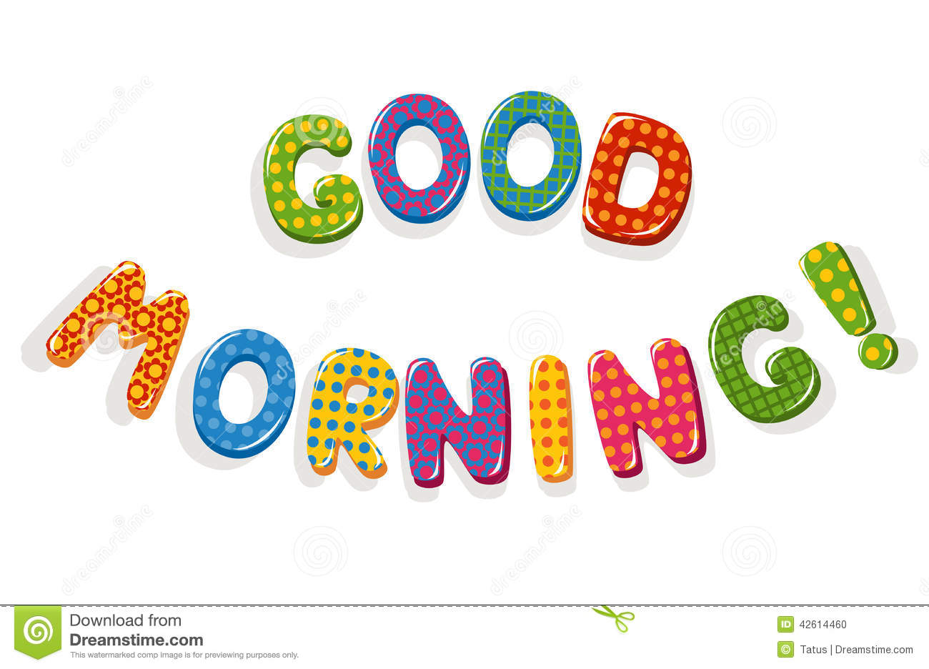 Good Morning Clipart .-Good Morning Clipart .-8