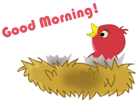 Good morning clipart kid 2-Good morning clipart kid 2-4