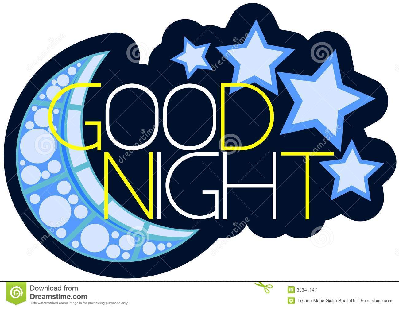 Good Night Clipart-Clipartlook.com-1300