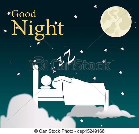 good night design - csp15249168