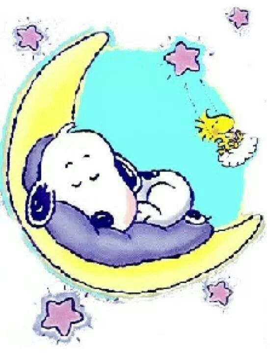 Good Night Snoopy Clipart #1