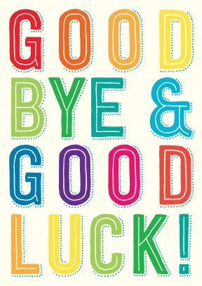 Goodbye And Good Luck Clipart Goodbye Go-Goodbye And Good Luck Clipart Goodbye Good Luck Clip Art-8