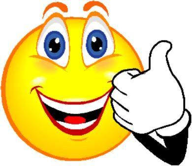 Goofy Smile Clipart #1