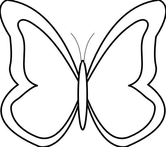 Google Images Clip Art free of fish   bu-Google Images Clip Art free of fish   butterfly 26 black white line art flower youtube-11