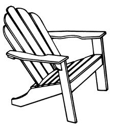 Google Search Kennedy Adirondack Drawing Adirondack Chairs Online