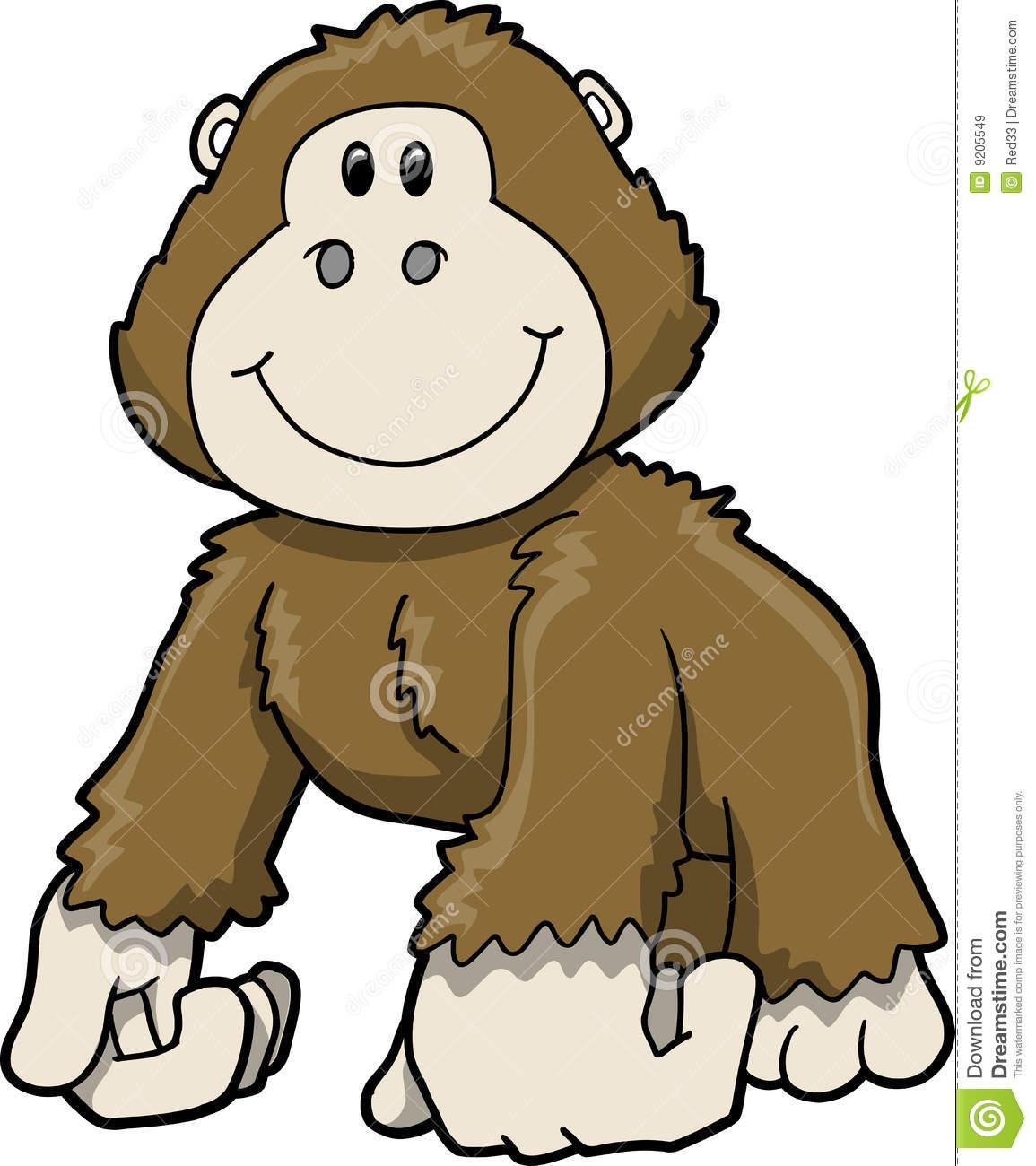 Gorilla Clip Art