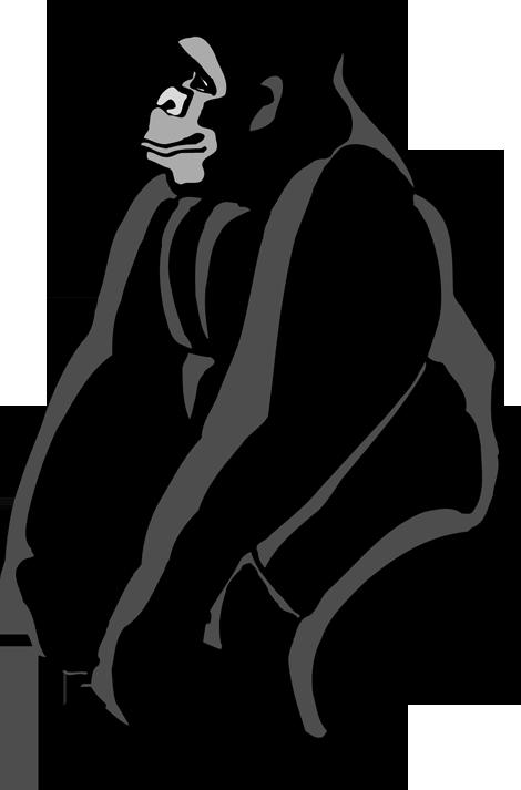 Gorilla Clip Art-Gorilla Clip Art-9