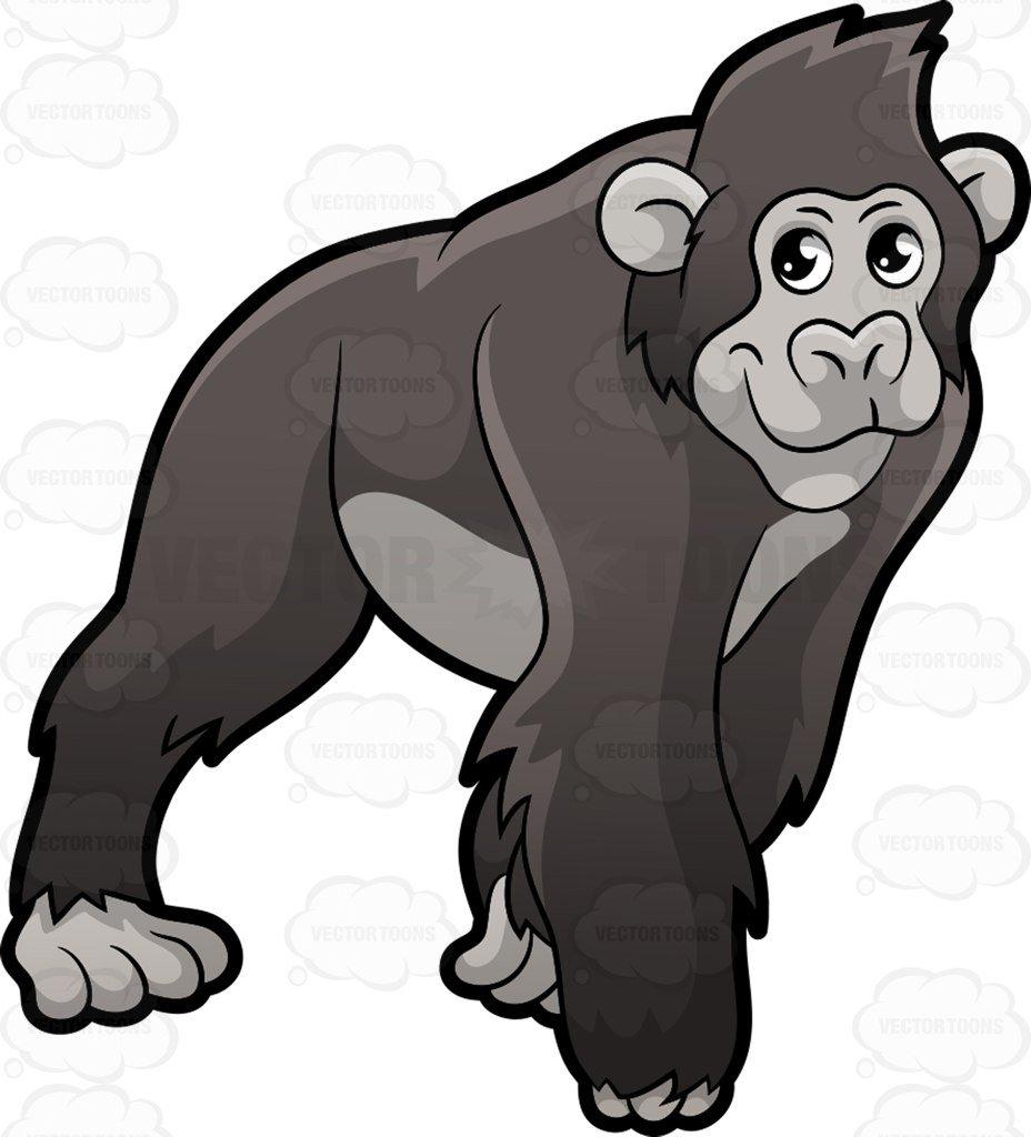 A Gorilla On All Fours-A Gorilla on all fours-1