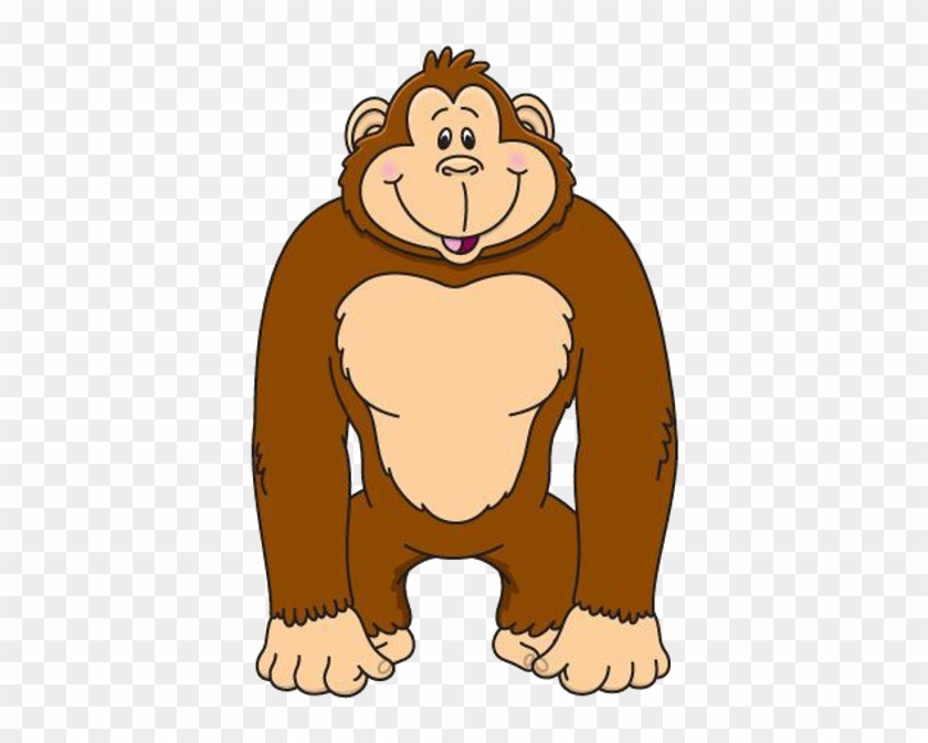 Baby Gorilla Clipart - Clipart Of A Gori-Baby Gorilla Clipart - Clipart Of A Gorilla #174817-3