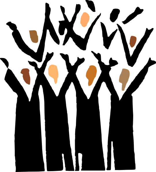 Gospel Choir Clip Art At Clker Com Vector Clip Art Online Royalty