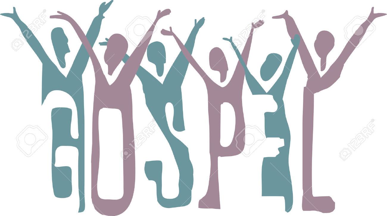 gospel: Gospel word and .