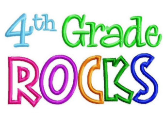 grade 4 clipart. 4th