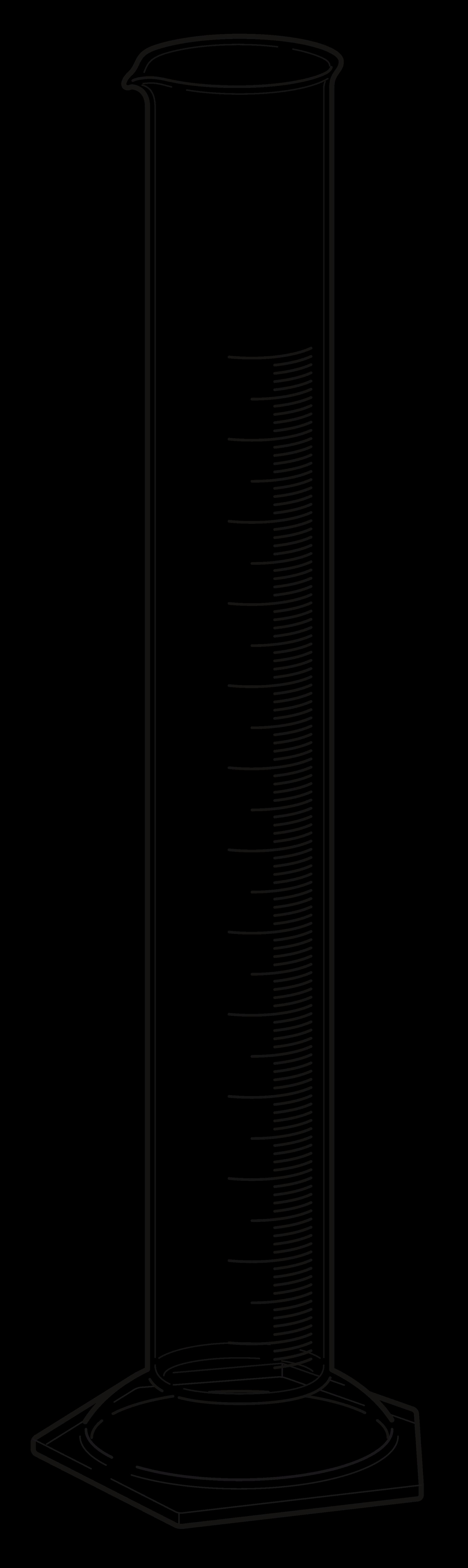 graduated cylinder. Clip Art Info