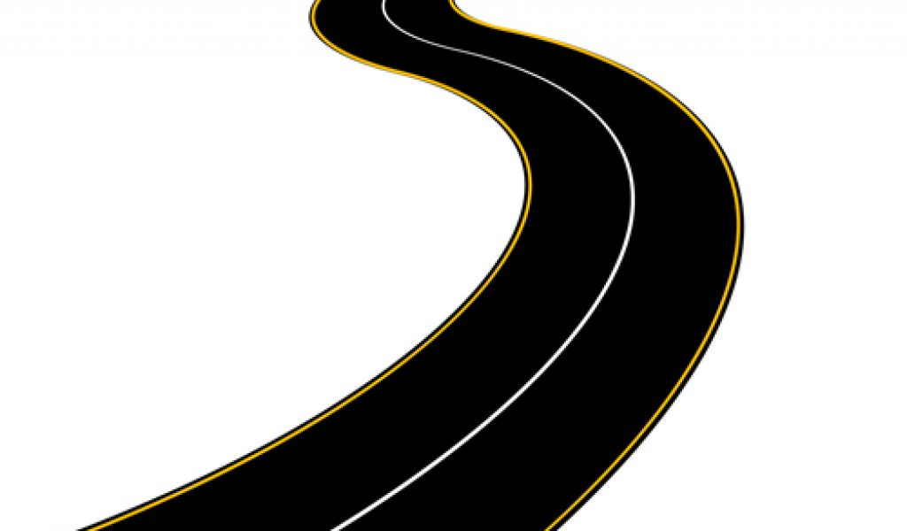 ... Graduates Walking A Winding Road Cli-... Graduates walking a winding road clipart ...-2
