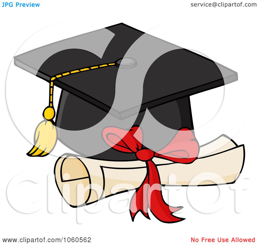Graduation Cap And Diploma .-Graduation Cap And Diploma .-9