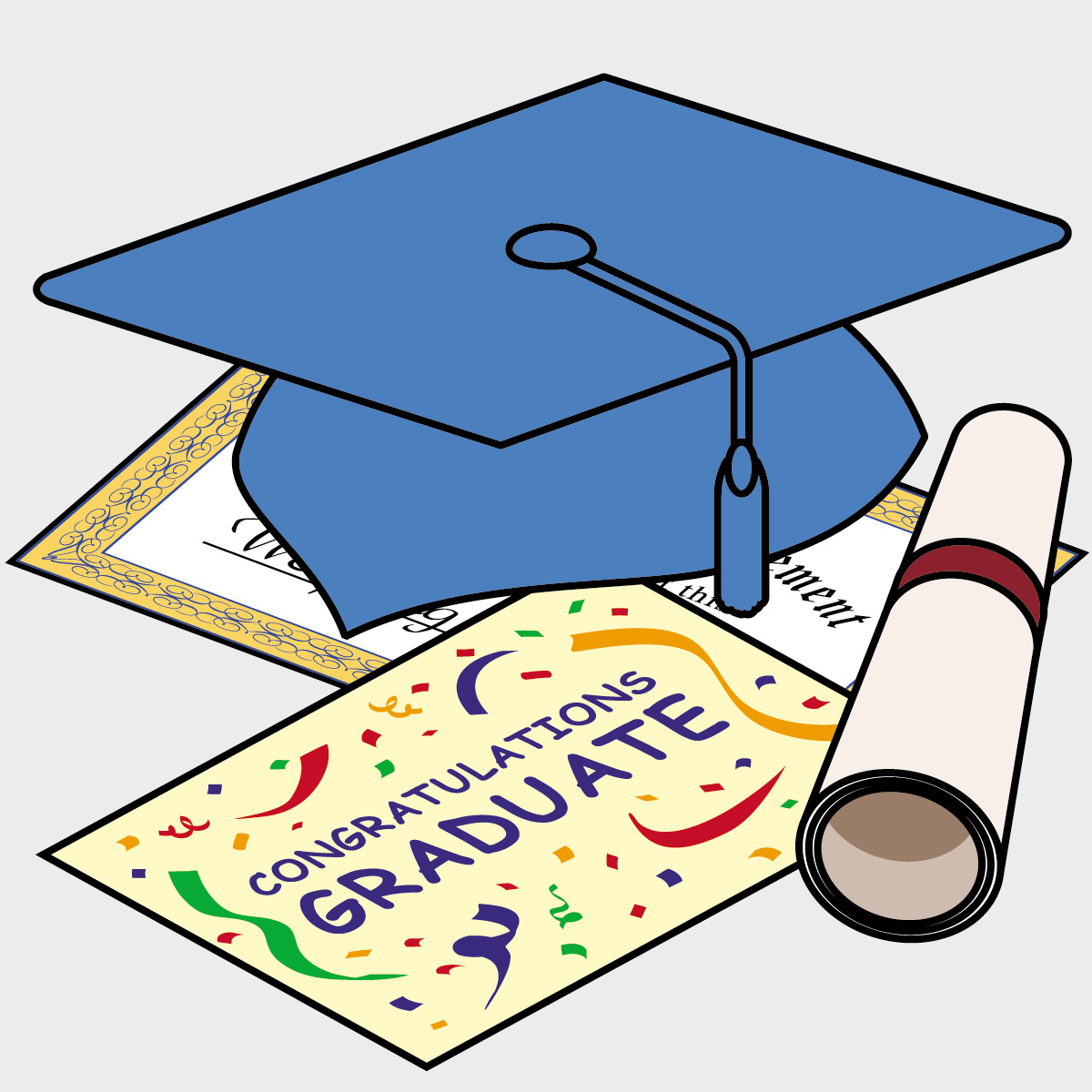 Graduation Cap And Diploma Clipart | Fre-Graduation Cap And Diploma Clipart | Free Download Clip Art | Free .-10