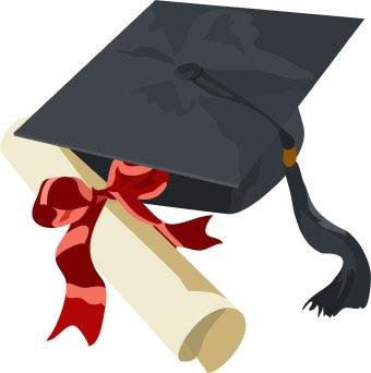Graduation Cap And Gown .-Graduation Cap And Gown .-13