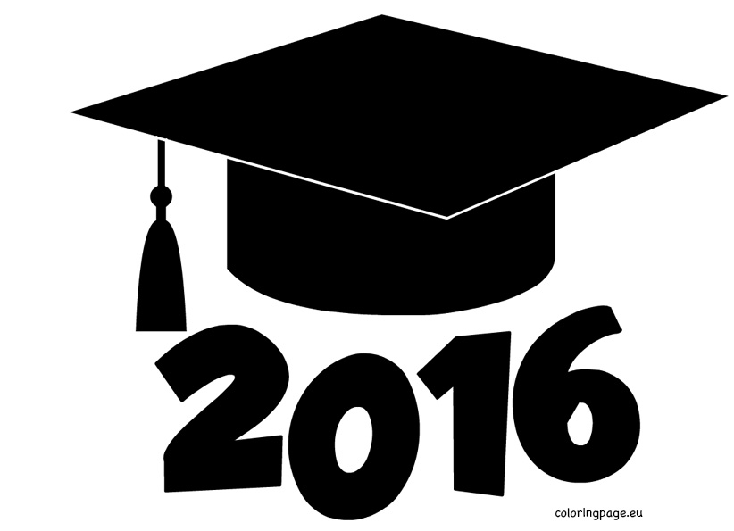Graduation cap clip art free 2 clipartset