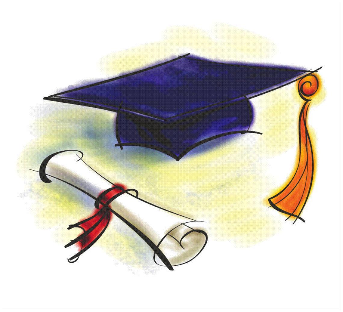 Graduation Cap Clip Art Free .-Graduation Cap Clip Art Free .-11