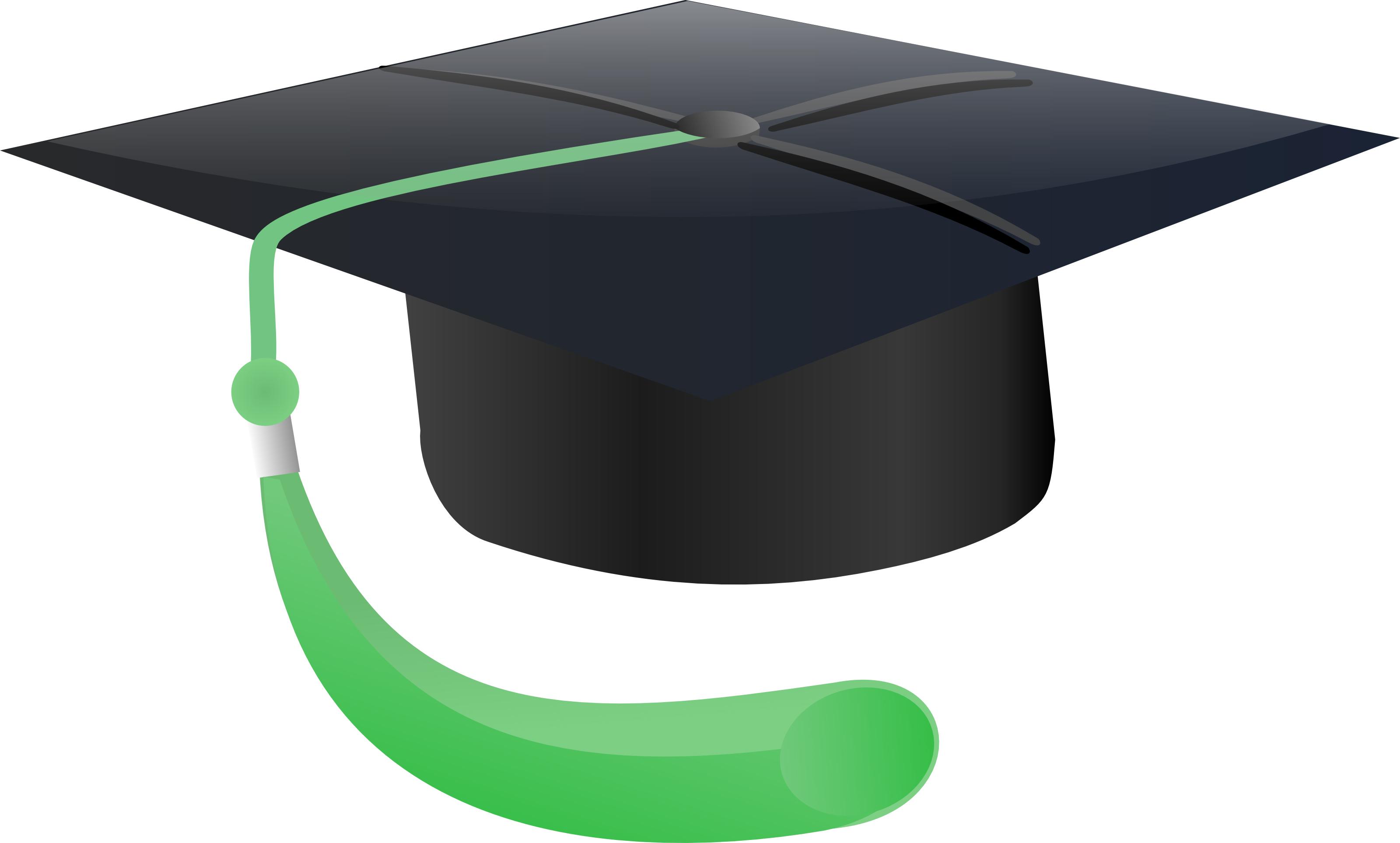 Graduation cap clipart graduation hat vector clipartall