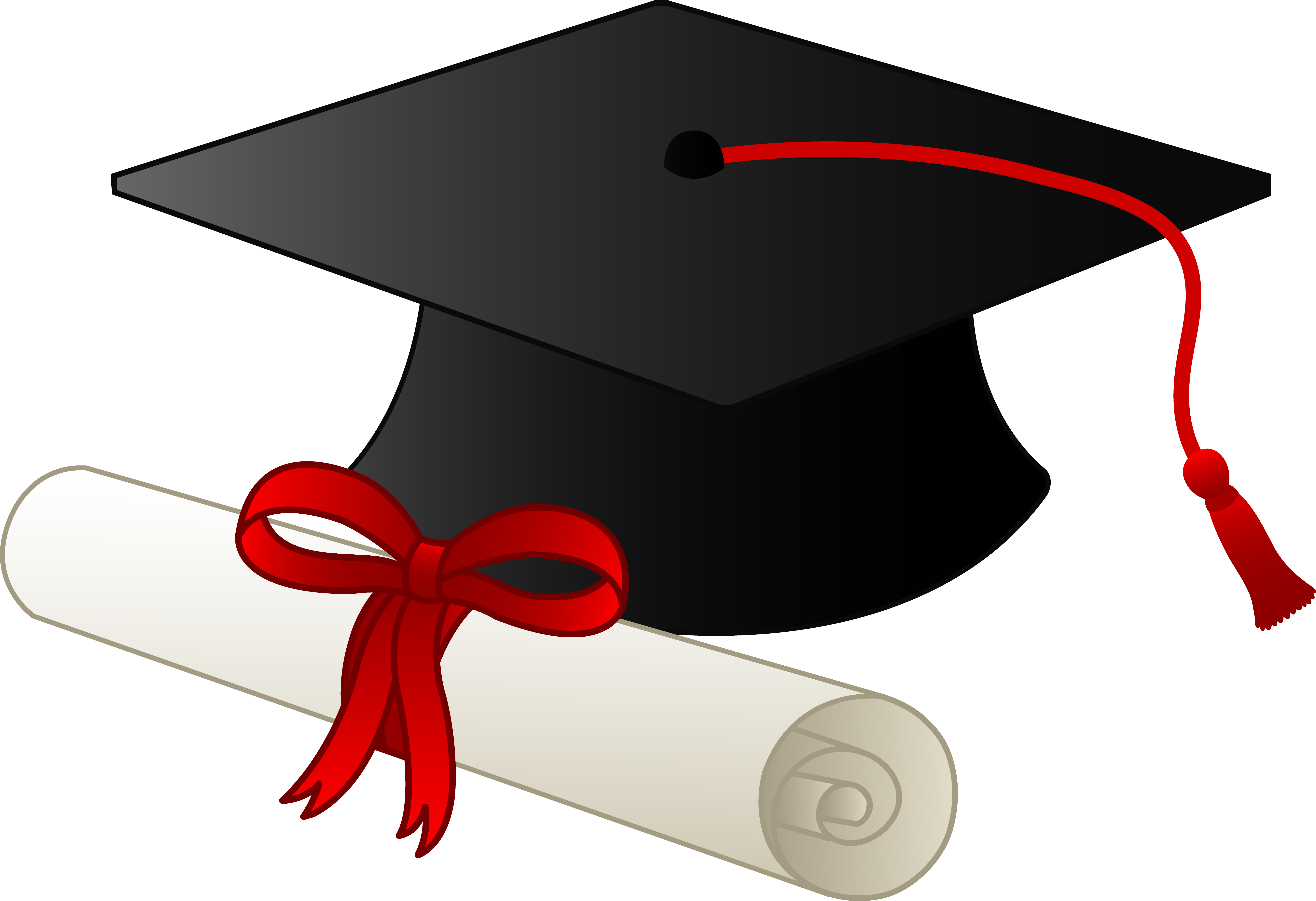 Graduation Cap Clipart on .-Graduation Cap Clipart on .-1