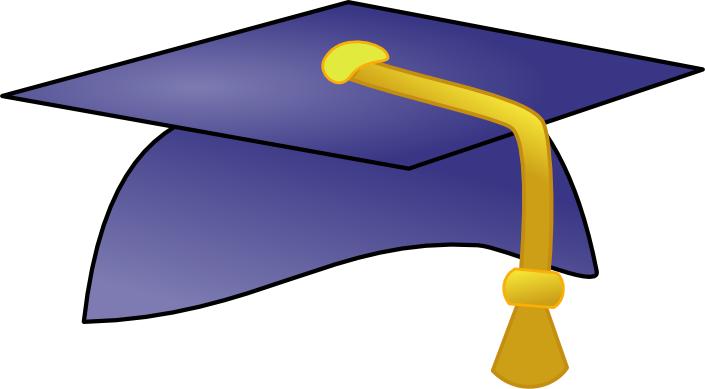Graduation Cap Colors Clip Art ..
