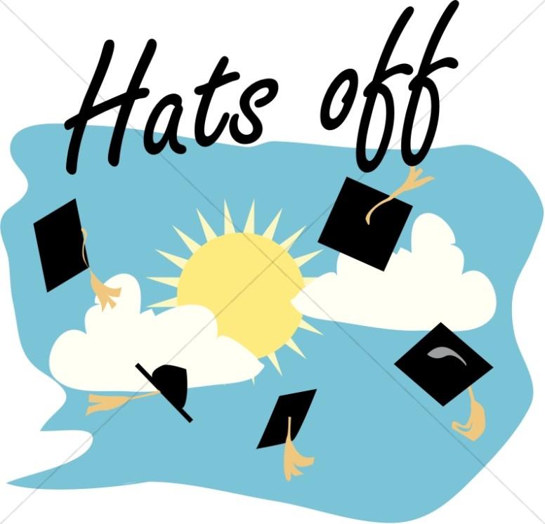 Graduation Caps Off