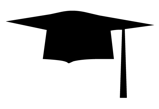 Clipart for graduation cap; G