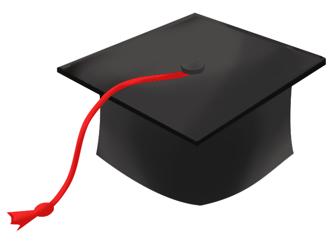 Graduation hat flying graduat - Clipart Graduation Cap