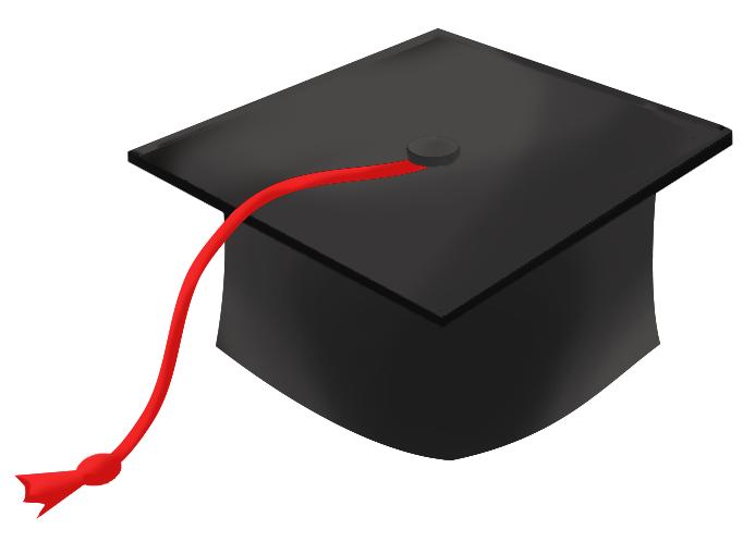 Graduation hat flying graduation caps cl-Graduation hat flying graduation caps clip art graduation cap line 3 - Clipartix-18