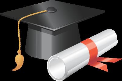 Graduation hat flying graduation caps clip art graduation cap line 5