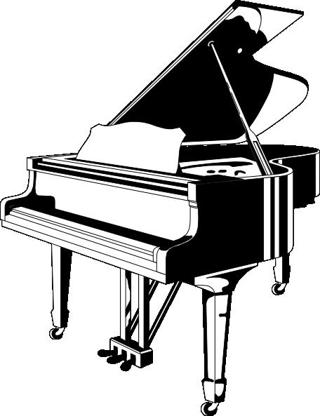 Grand Piano Clip Art-Grand Piano Clip Art-6