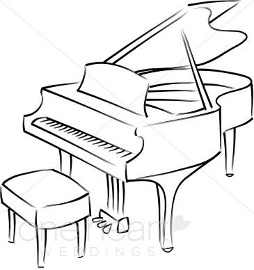 Grand Piano Clipart-Grand Piano Clipart-4
