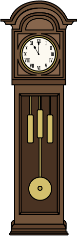 Grandfather Clock by .