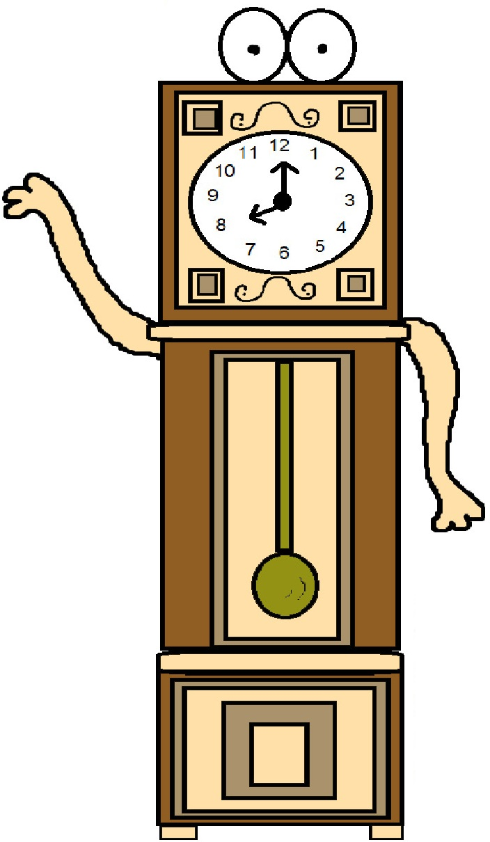 Grandfather Clock. Daylight Savings Time Save .