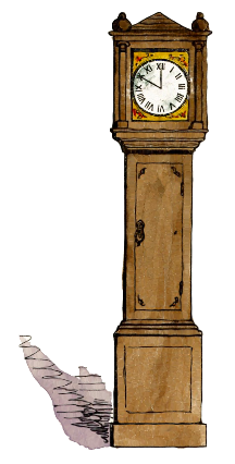 Grandfather Clock Time Grandfather Clock Grandfather Clock Png Html