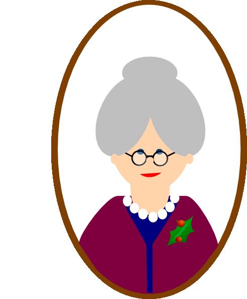 Grandma Clip Art At Clker Com Vector Clip Art Online Royalty Free