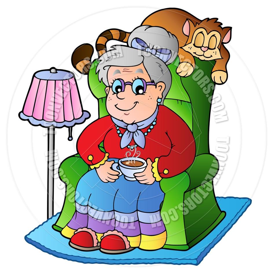 Grandmother Clip Art-grandmother clip art-7