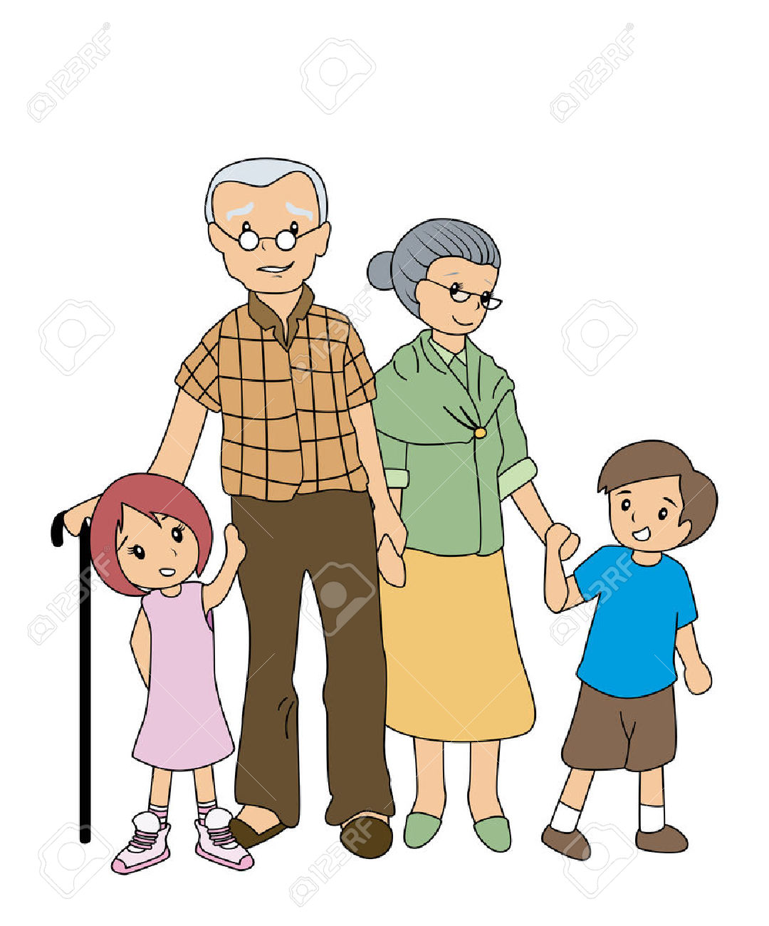 grandparent clipart