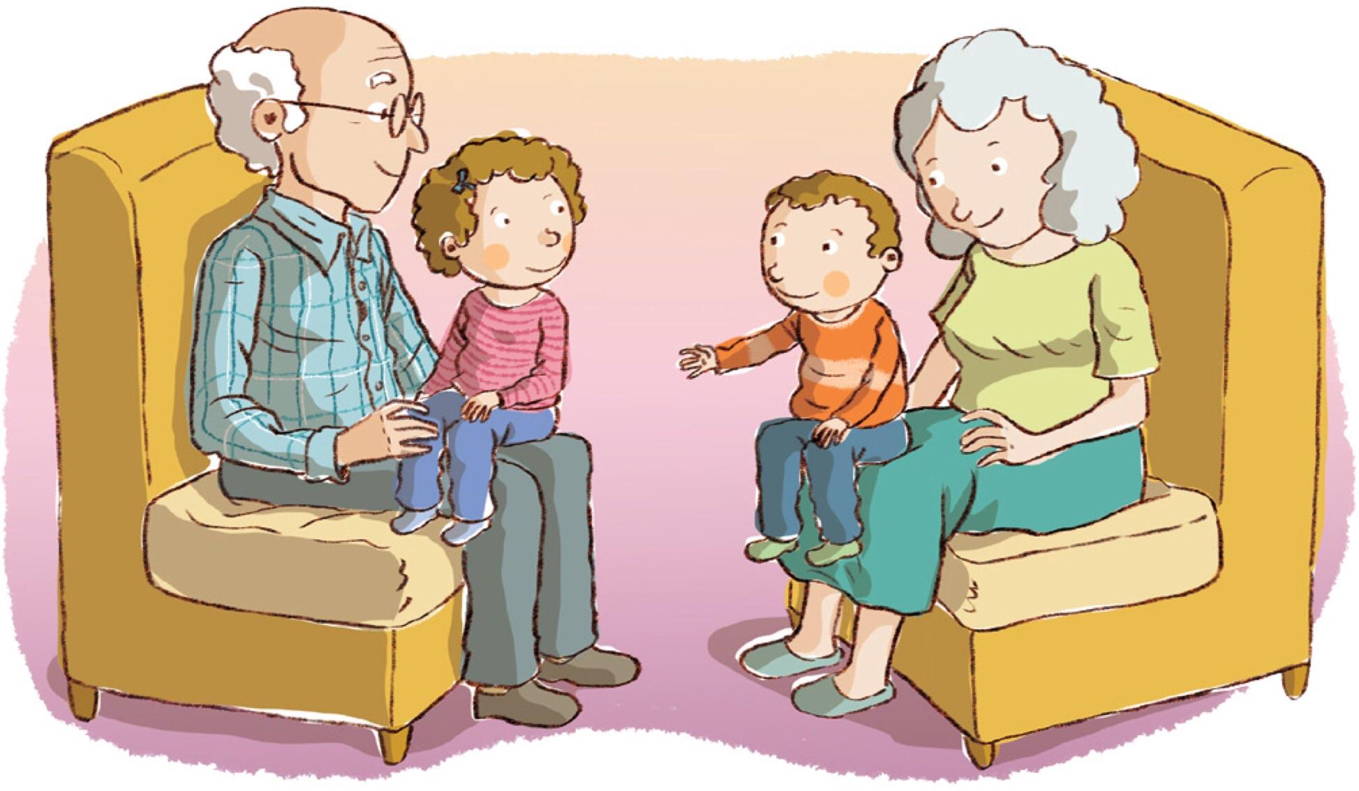 grandparent clipart image . - Grandparents Clip Art