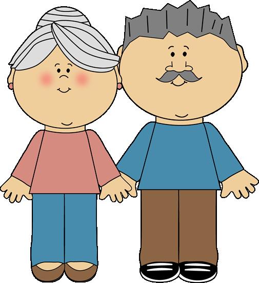 Grandparents Clip Art Image Clipart 38032 By Alex Bannykh Pictures