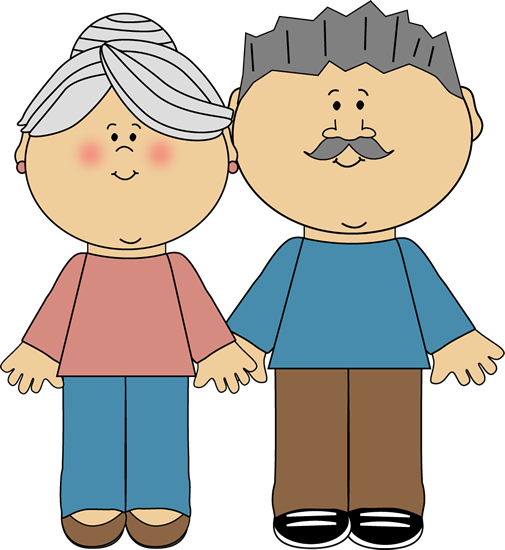 Grandparents Clip Art Image Clipart 38032 By Alex Bannykh Pictures