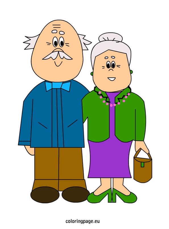 Grandparents clip art images