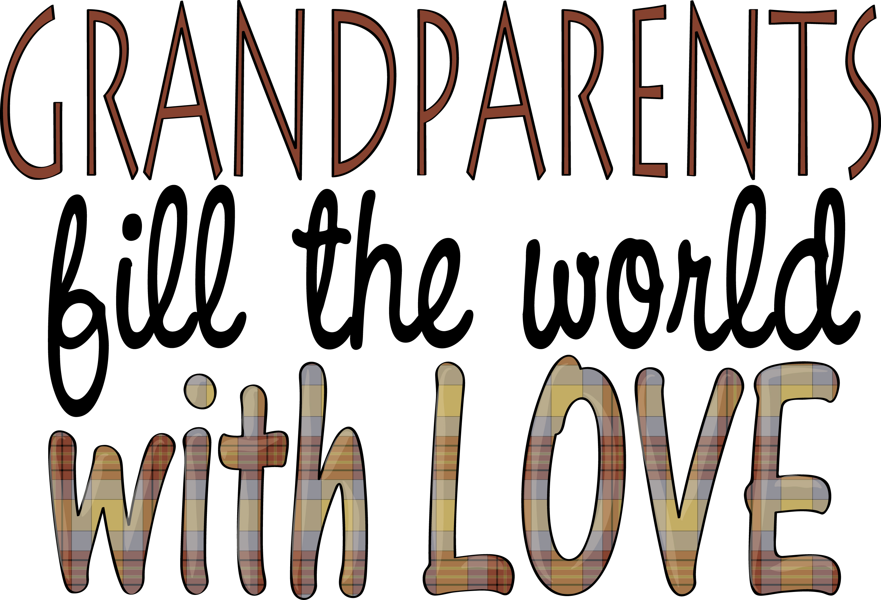 Grandparents Fill The World With Love On-Grandparents Fill The World With Love On National Grandparents Day And-14