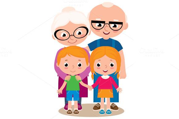 Grandparents grandparent clipart image
