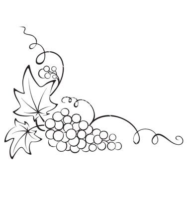 Grape Clipart, Wine Clipart, Grape Tree, Grape Leaves, Grape Vines, Grapevine Clipart, Grapevine Drawings, Logo Sklep, Tattoo Grappe