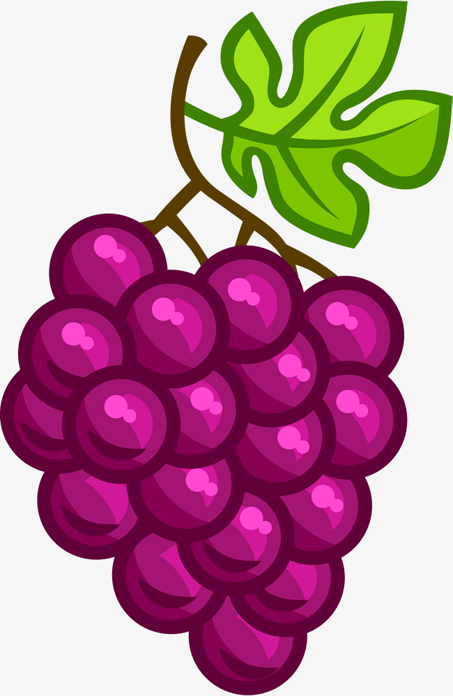 purple cartoon grapes, Cartoon Clipart, Violet, Cartoon PNG Image and  Clipart