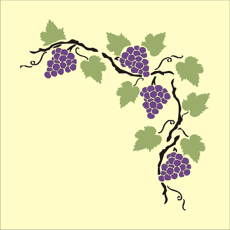 Grapevine Border Clipart Best